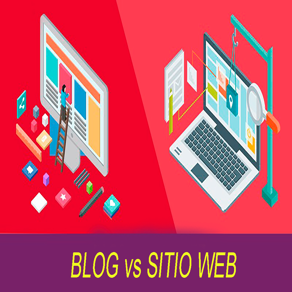 Blog vs sitio web
