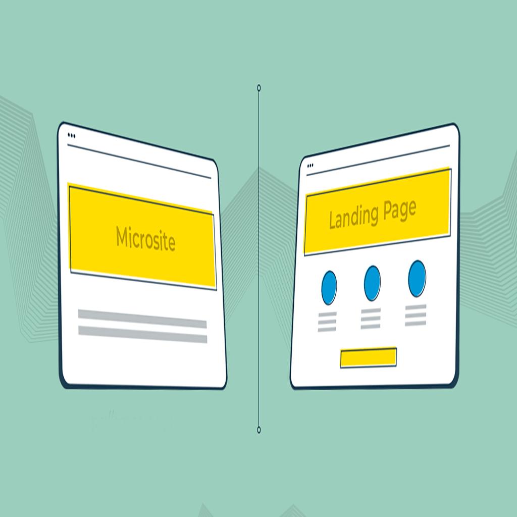 Microsite vs landing page